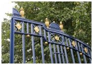 The restored gates